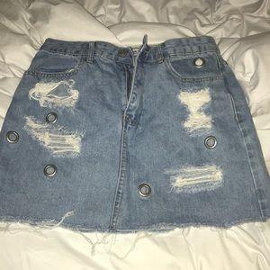Very cute denim skirt